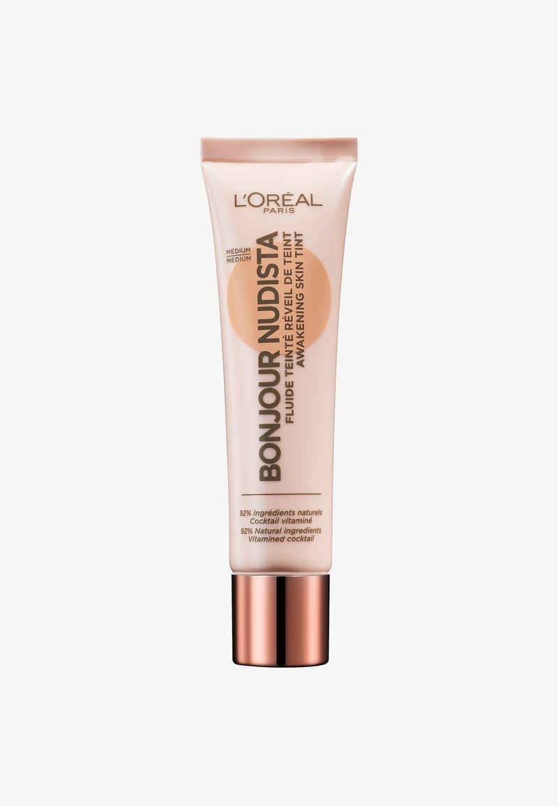 L'Oréal Paris - BONJOUR NUDISTA AWAKENING SKIN - BB cream - medium