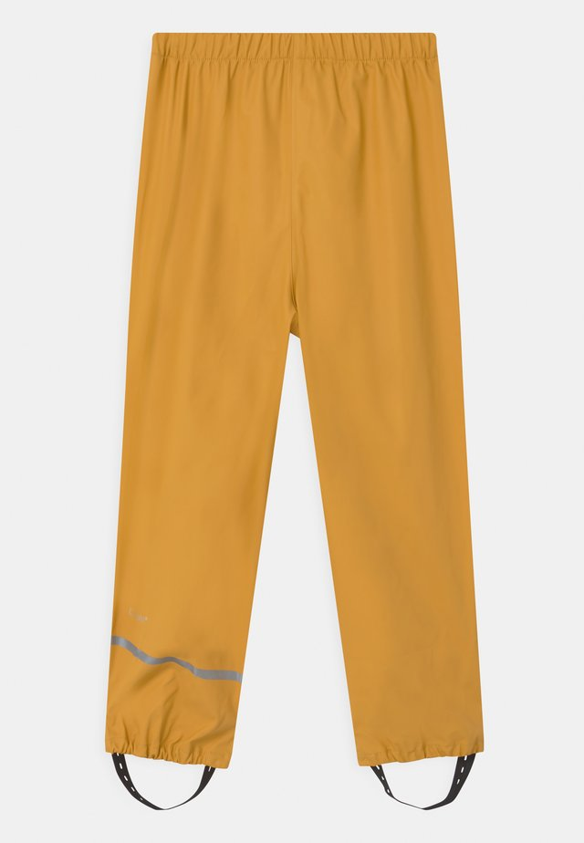 UNISEX - Rain trousers - mineral yellow