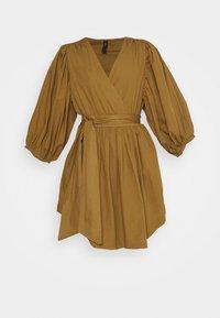 YAS - YASERMI DRESS - Day dress - butternut - 3