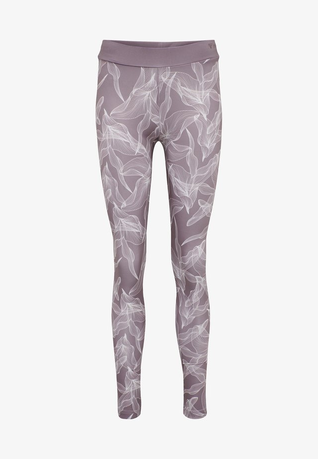 HMLALBEN  - Tights - purple/velvet