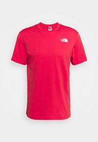 The North Face - REDBOX TEE - T-shirt con stampa - rococco red - 4