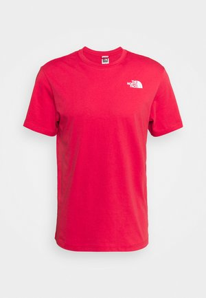 REDBOX TEE - T-shirt med print - rococco red