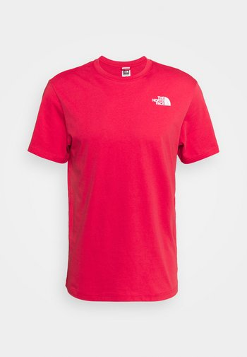 REDBOX TEE - T-shirt con stampa - rococco red