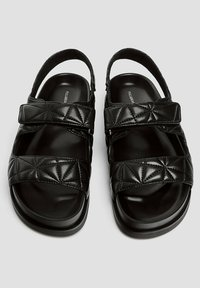 PULL&BEAR - Platform sandals - black - 3