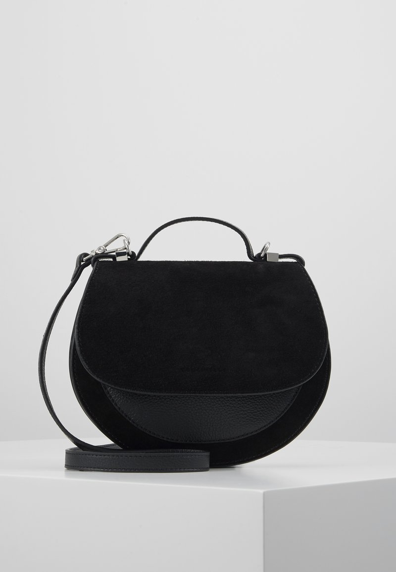 Coccinelle - SIRIO SADDLE - Across body bag - noir