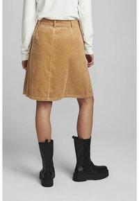 Nümph - NUMEGHAN CALA SKIRT - A-line skirt - tannin - 1