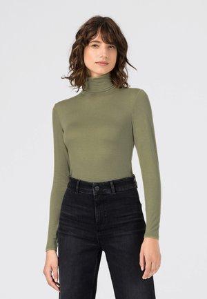 T-shirt à manches longues - lindengrün
