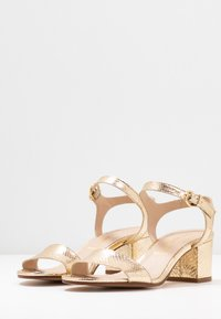 San Marina - ABRIGA - Sandals - gold - 4