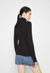 Monki - ELIN  - Long sleeved top - black - 2