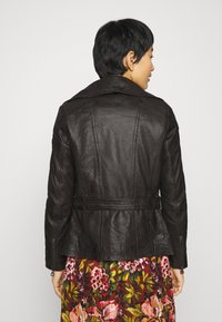 Gipsy - CYLIA LAMAS - Leather jacket - antra - 3