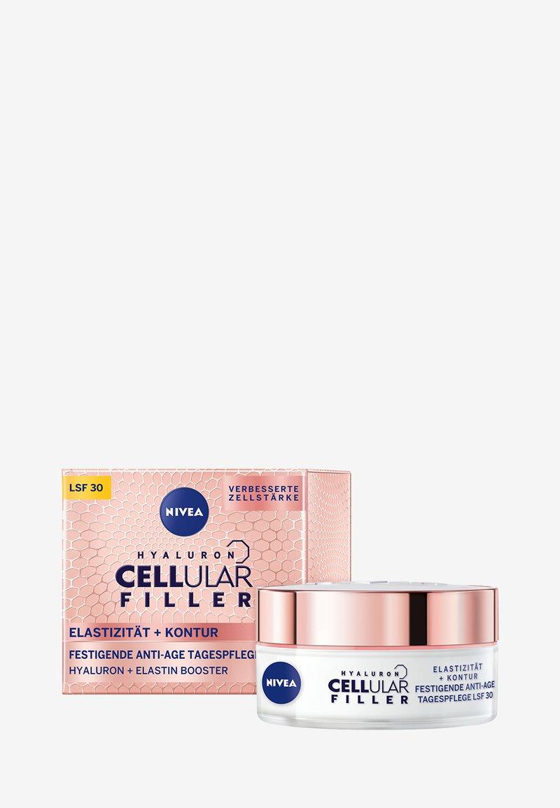Nivea - HYALURON CELLULAR FILLER + ELASTICITY RESHAPE DAY CREAM - Crema da giorno - -