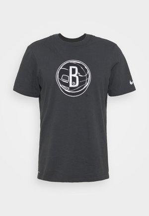 NBA BROOKLYN NETS LOGO TEE - Article de supporter - anthracite