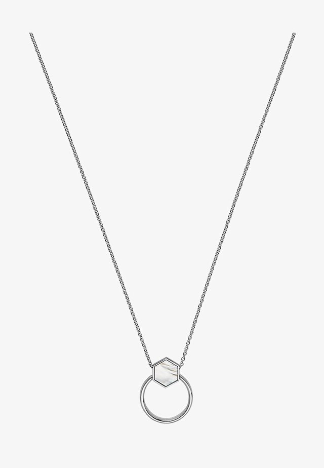 LUCKY CHARM - Necklace - silver-colored