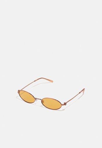 Sunglasses - rose gold-coloured