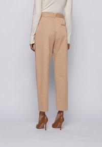 BOSS - TERMINE - Trousers - beige - 2