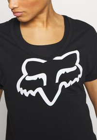 Fox Racing - RESPONDED V NECK - T-Shirt print - black - 5