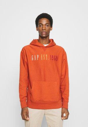 Bluza z kapturem - copper