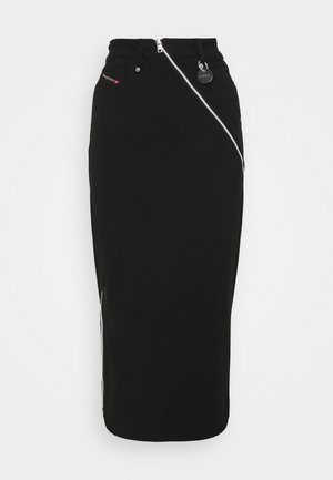 O-CROSS - Pencil skirt - black