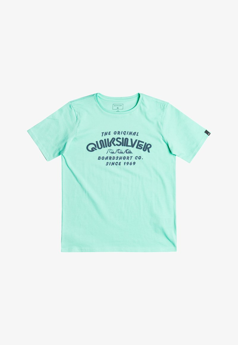 Quiksilver - WILDER MILE  - Basic T-shirt - cabbage