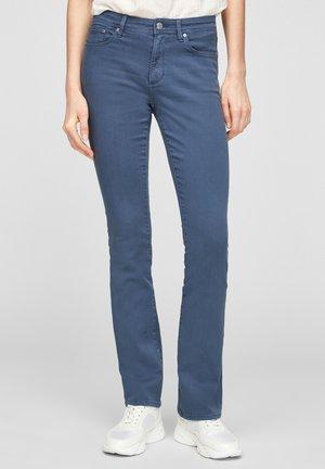 SLIM FIT BOOTCUT  - Bootcut jeans - blue