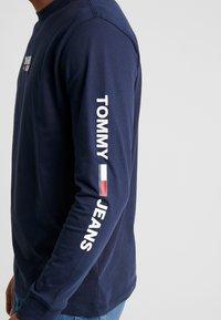 Tommy Jeans - Long sleeved top - black iris - 5