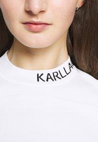 KARL LAGERFELD - LIGHT WEIGHT LOGO - Jersey de punto - white - 6