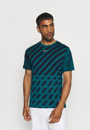 GRAPHIC TEE - Print T-shirt - bright spruce