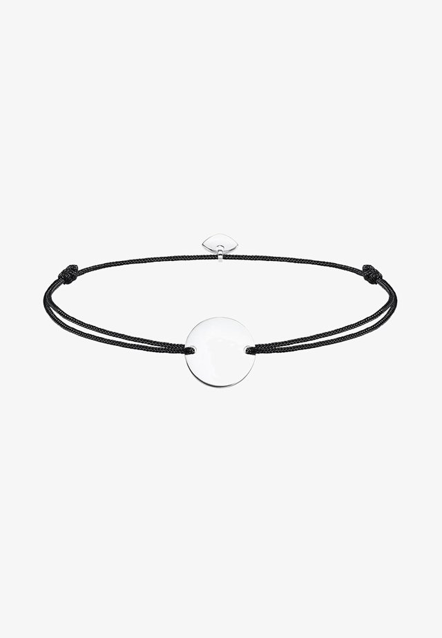 LITTLE SECRET COIN - Armband - silver-coloured/black