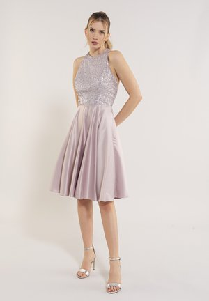Cocktail dress / Party dress - light rose