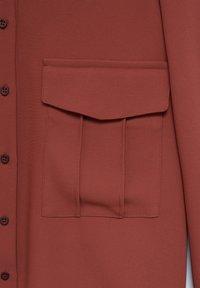 Mango - ARES-I - Button-down blouse - bräunliches orange - 5