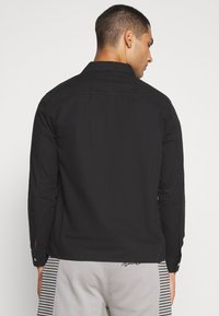 New Look - ZIP THRU  - Shirt - black - 2