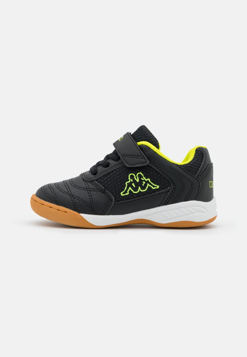 Kappa - DAMBA UNISEX - Sports shoes - black/yellow