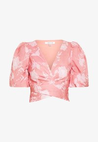 Forever New - PUFF SLEEVE WRAP - Blouse - pink - 4