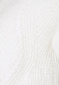 MAMALICIOUS - MLZULA CROPPPED - Svetr - snow white - 2