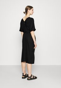 Dedicated - DRESS BORNHOLM - Shirt dress - black - 2