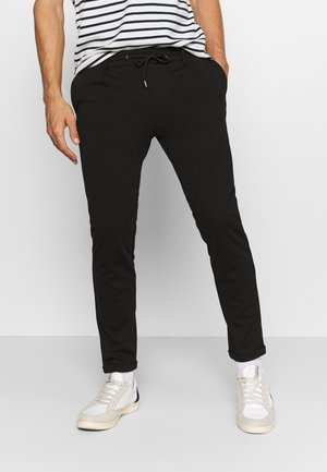 EBERLEIN WITH ROLL UP - Pantaloni - black
