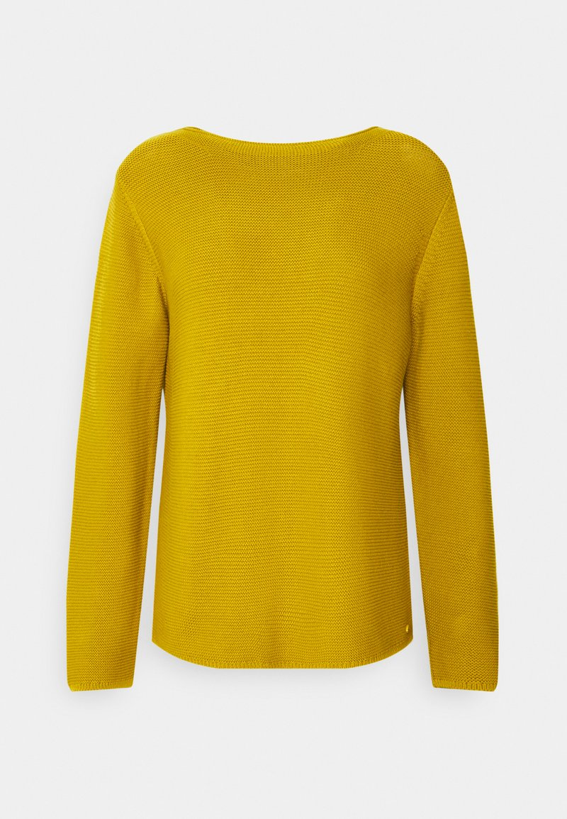 Marc O'Polo - SMALL LINKED ON COLLAR - Jumper - fresh pea