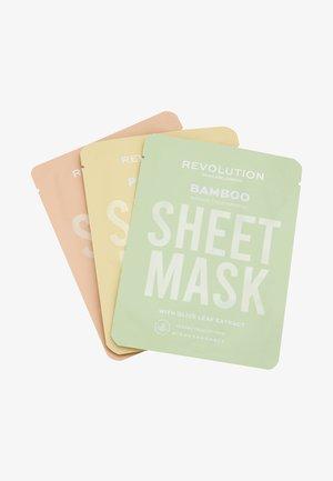 BIODEGRADABLE DRY SKIN SHEET MASK - Skincare set - -
