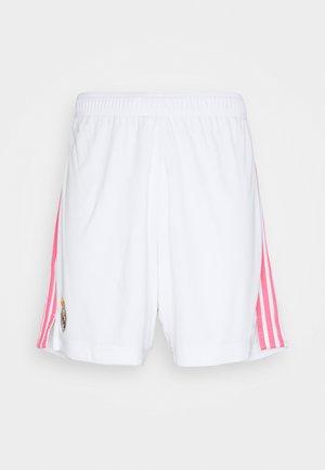REAL MADRID AEROREADY FOOTBALL SHORTS - Pantalón corto de deporte - white