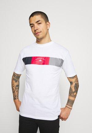 VIPER - T-shirt med print - white