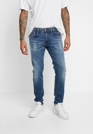 ANBASS HYPERFLEX BIO - Jeans slim fit - medium blue