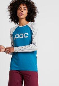 POC - ESSENTIAL  - Langærmede T-shirts - antimony blue - 0