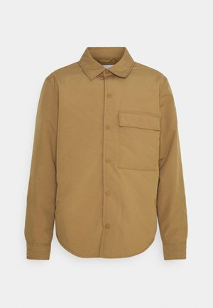 PADDED  JACKET - Light jacket - brown oak