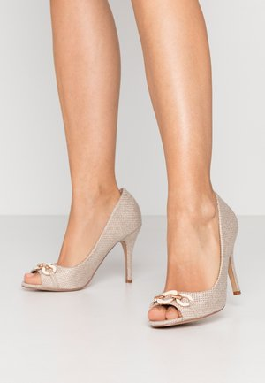 CHURCH - Peeptoe heels - beige