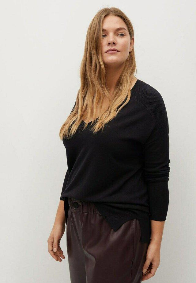 LISA - Pullover - black