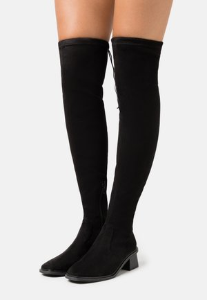 TOMORROW OVER THE KNEE BOOT - Kozačky nad kolena - black