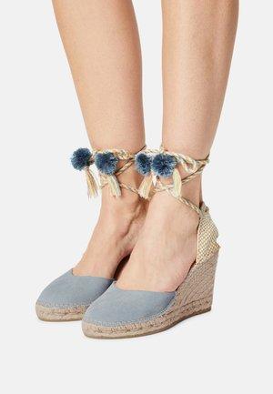 SIENNA 21 - Platform sandals - baby blue