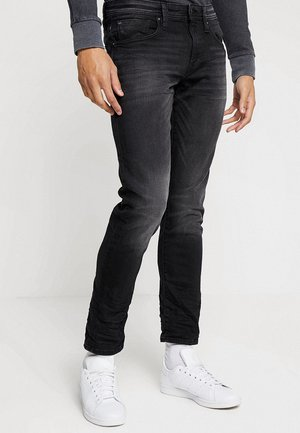 Slim fit jeans - black dark wash