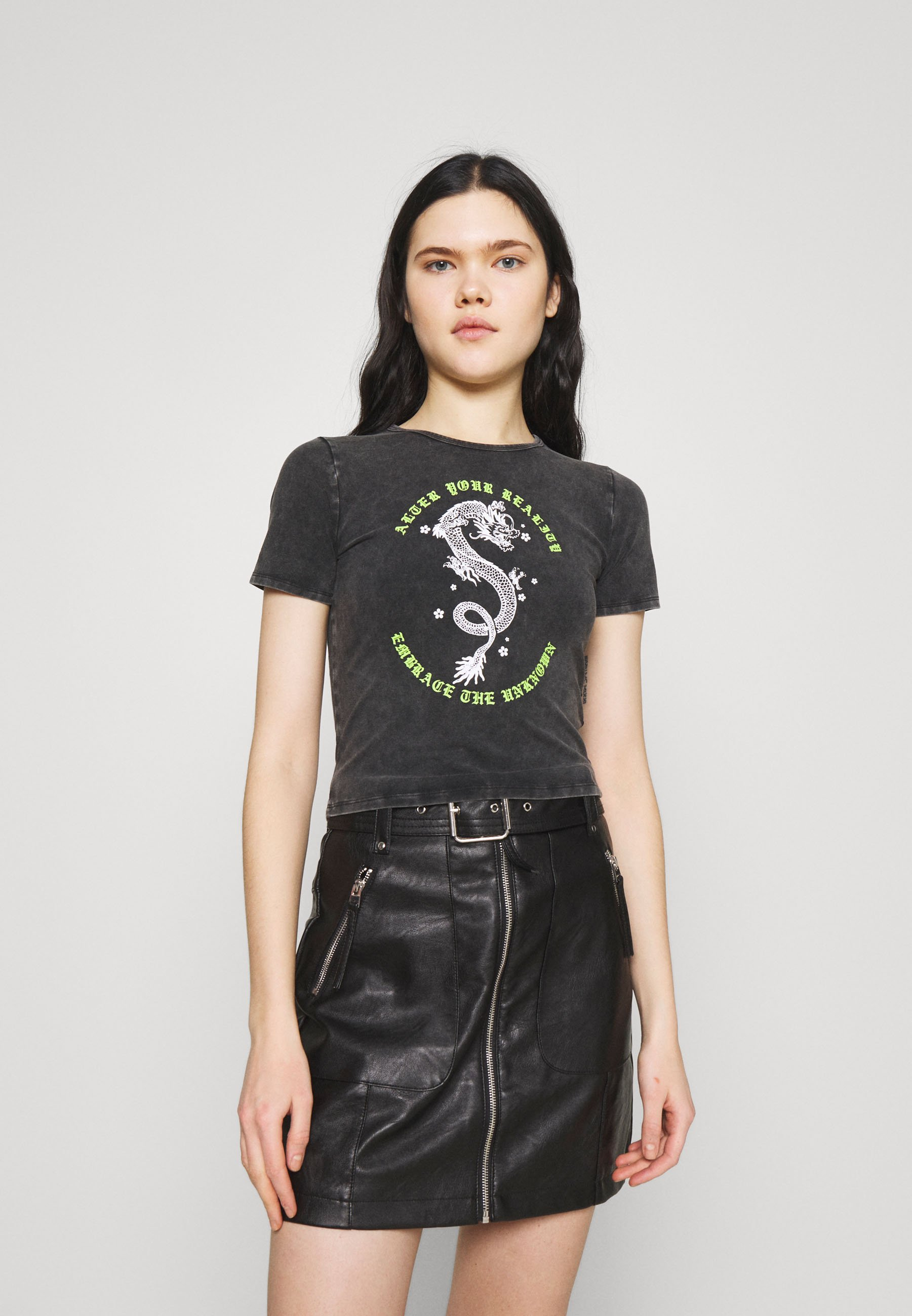 Damen VINTAGE BABY TEE - T-Shirt print