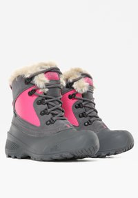 The North Face - Y SHELLISTA EXTREME - Winter boots - zinc grey/mr. pink - 1